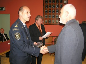 16.10.2013 Zlín - Předávání průkazů Revizních techniků a poděkování ZSMK