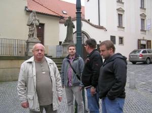 4.5.2015 Setkání Zemského společenstva mistrů kominických na Moravě v kostele u Kapucínu vBrně